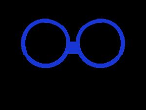 Logo con nombre ranita azul 300x225